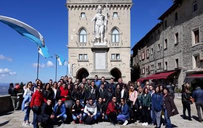 Матурска екскурзија у Италији